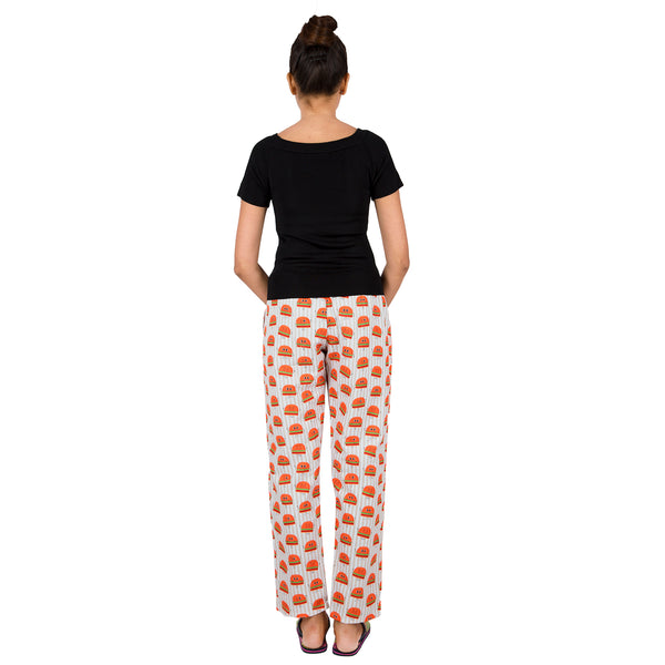 printed-cotton-night wear-pyjamas-with-pockets