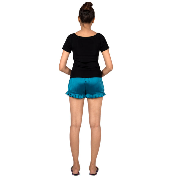 women's-sleep-wear-satin-shorts