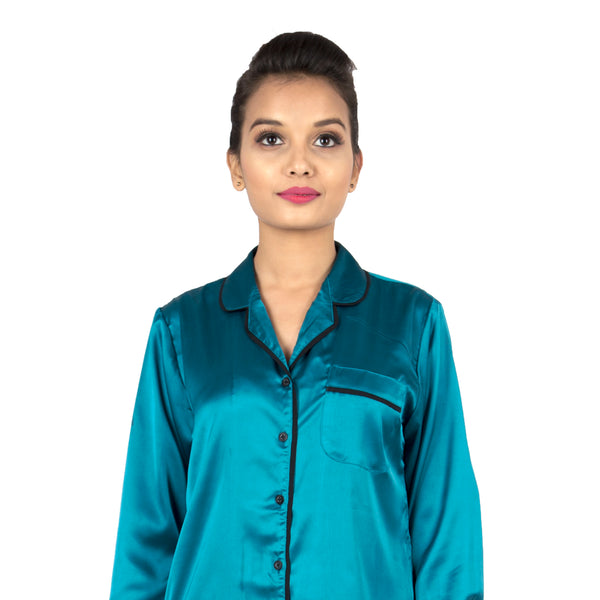 Teal Love Sleepshirt