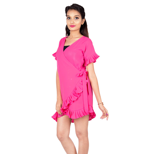 womens-casual-dress-in-pink