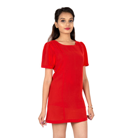 short-red-dress-for-women-online
