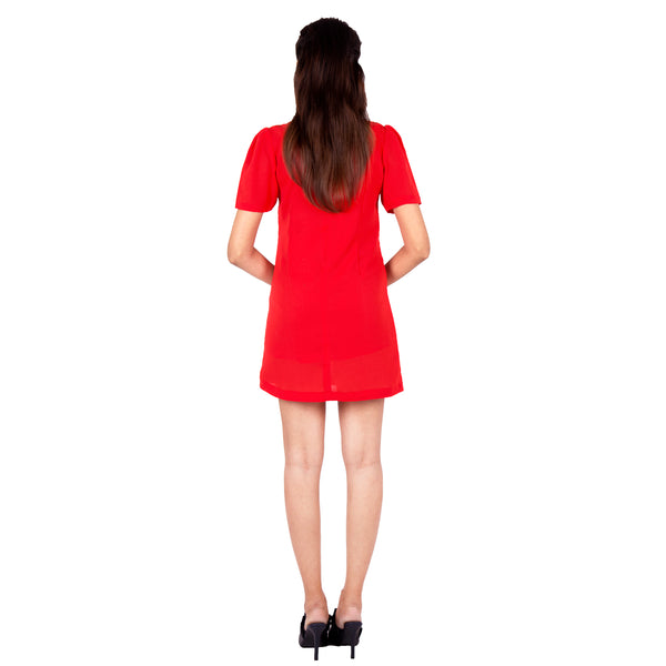women's-casual-red-dress-online