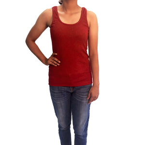 plain-maroon-tank-top-for-ladies-online-india