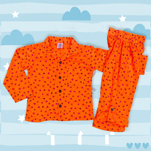 Little Triangles Boys Night Suit
