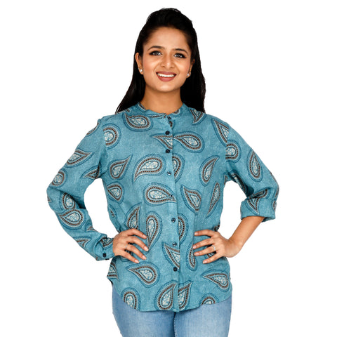 formal-shirt-for-women-online-in-paisley-print