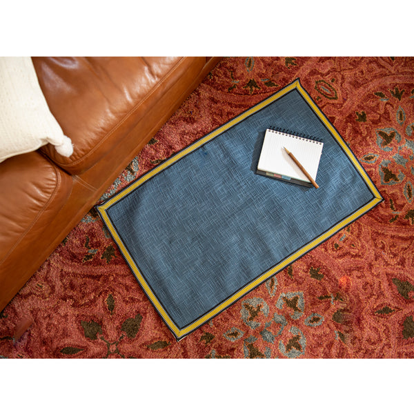 Aegean Blue Contemporary Rug