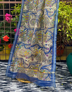 dressy-dupatta-online-with-peacock-print