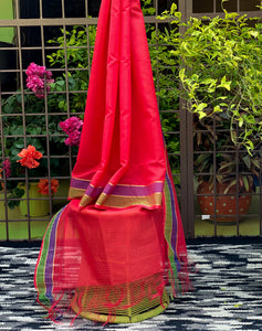 crismon-red-kota-doriya-dupatta-for-plain-kurtas-online-india
