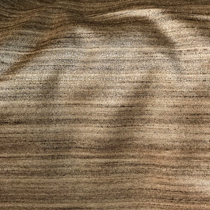 Handspun Cotton Silk Brown Fabric