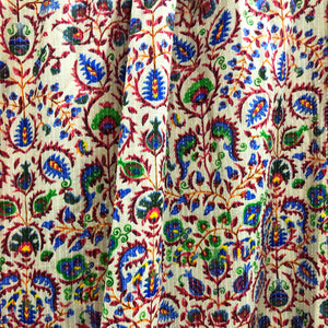 Morpankh Cotton Kantha Print Fabric