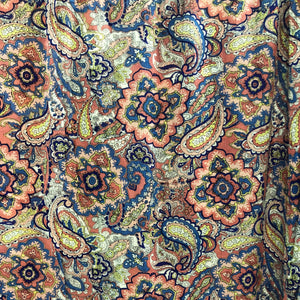 Kaleidoscopic Paisleys Rayon Print