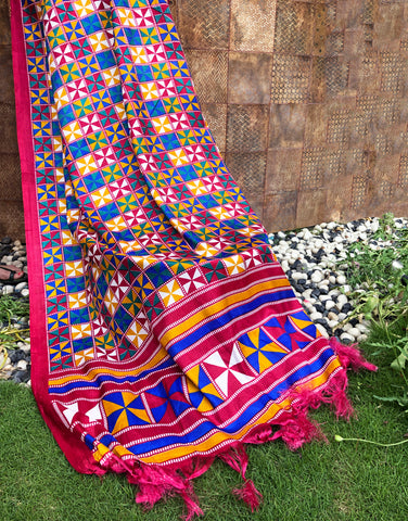 Kaleido Love Colourful Dupatta