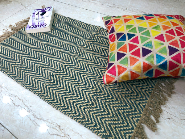 jute rugs collection online at cheapest rates in all colours