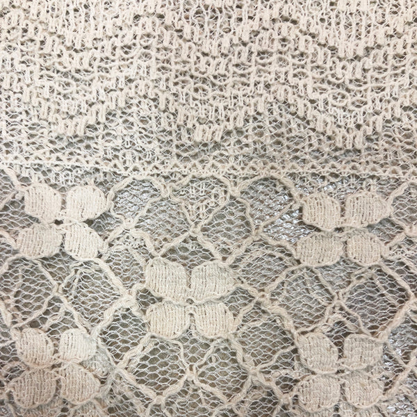 Salt White Lacy Net