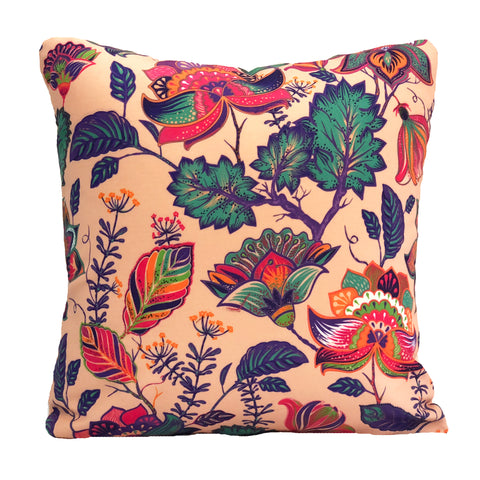 Floral Burst Cushion Cover