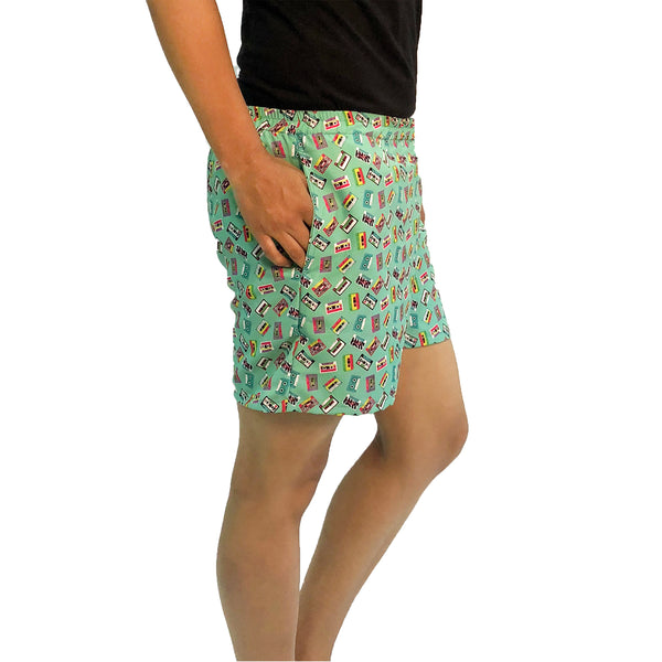 funky-sleep-wear-shorts-for-ladies