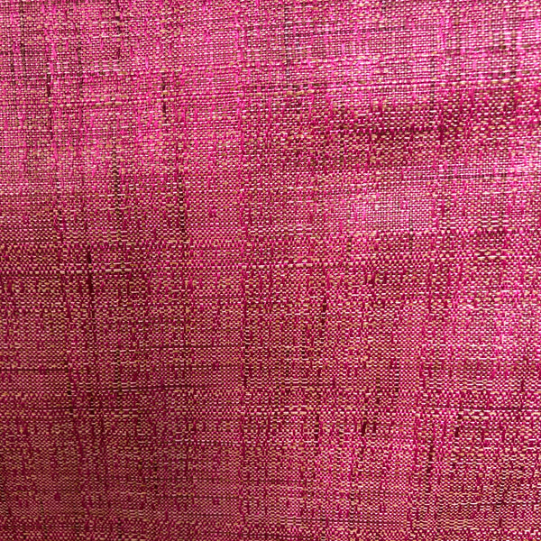 Handspun Cotton Silk Pretty Pink Fabric