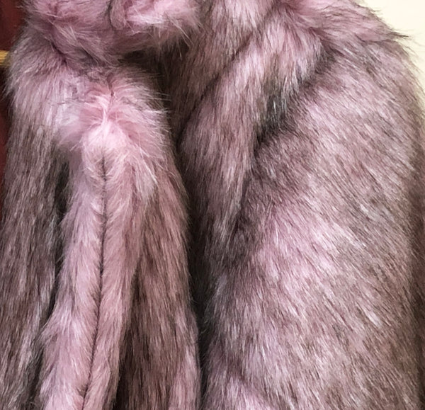 Pinky Promise Faux Fur Jacket