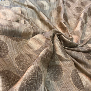 brown-and-gold-brocade-fabric-online-india
