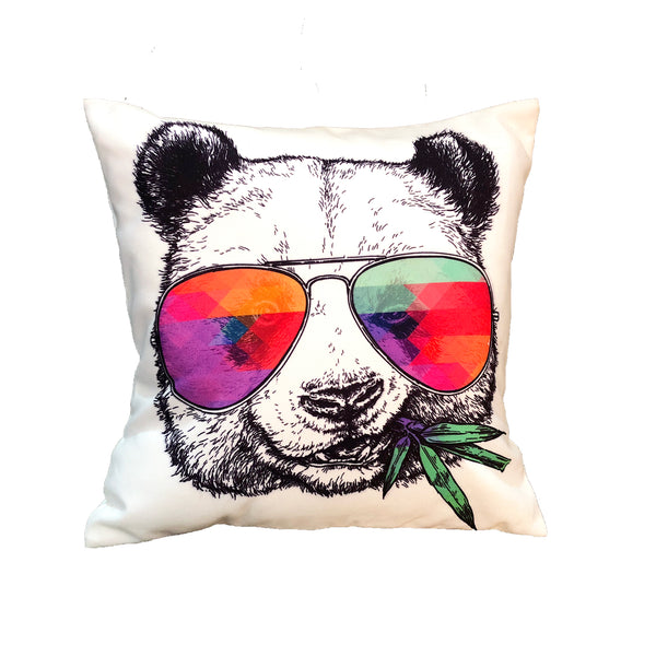 Stoned Panda Cushion