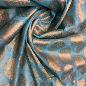 blue-and-gold-brocade-fabric-online-india