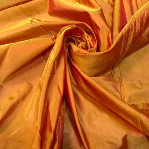 Mustard Yellow Chennai Silk Fabric