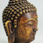 Exquisite Stone Buddha Hand Carved