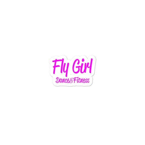 Fly Girl Bubble-free stickers