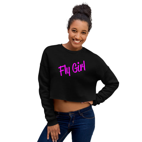 Fly Girl Crop Sweatshirt