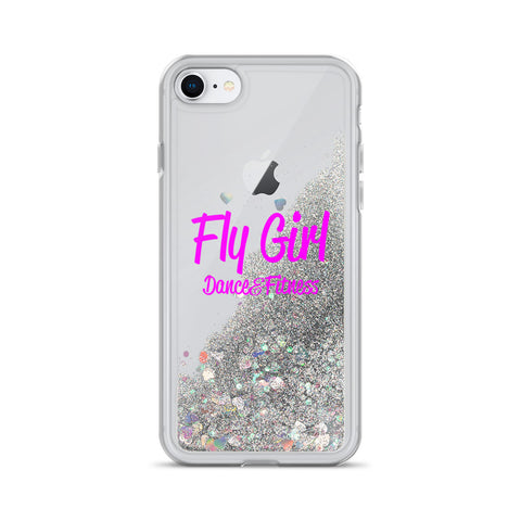 Fly Girl Liquid Glitter Phone Case
