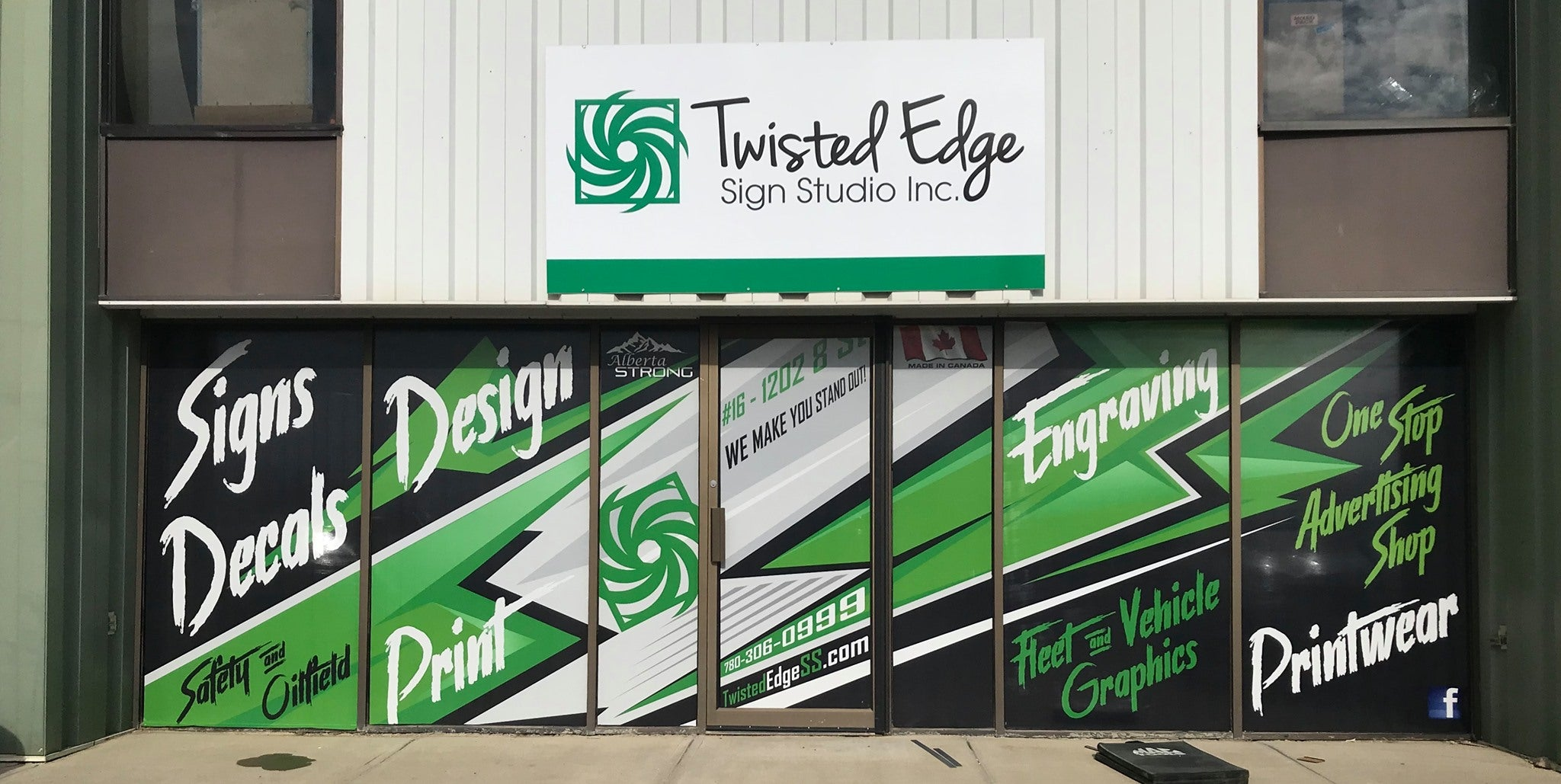Twisted Edge Store Front