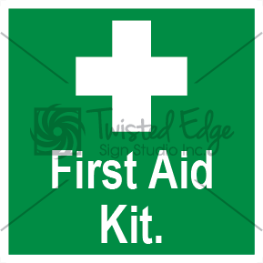 Safety Sign First Aid Kit Small