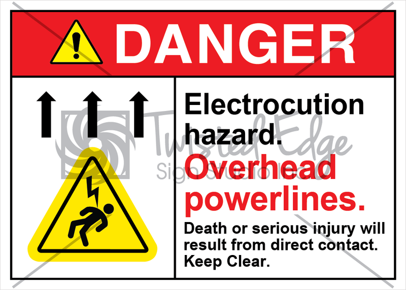 Electrocution Hazard Overhead Powerlines