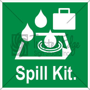 Safety Sign Spill Kit Small