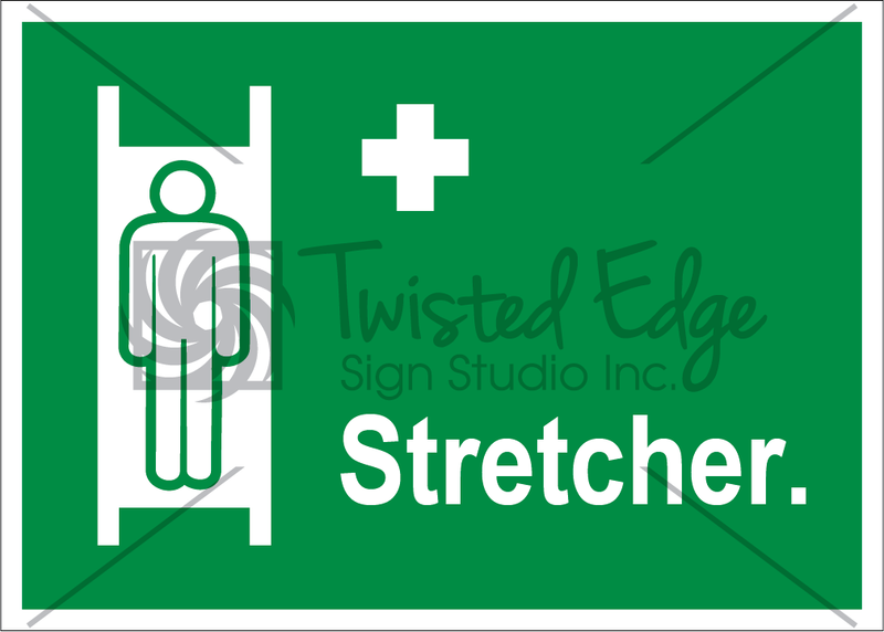 Safety Sign Stretcher