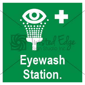 Safety Sign Eyewash Station Small