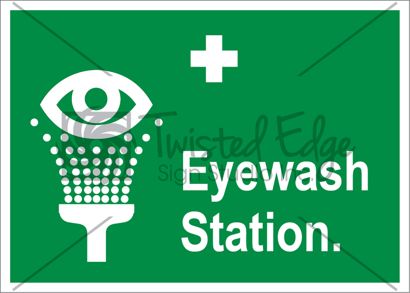 Safety Sign Eyewash Station