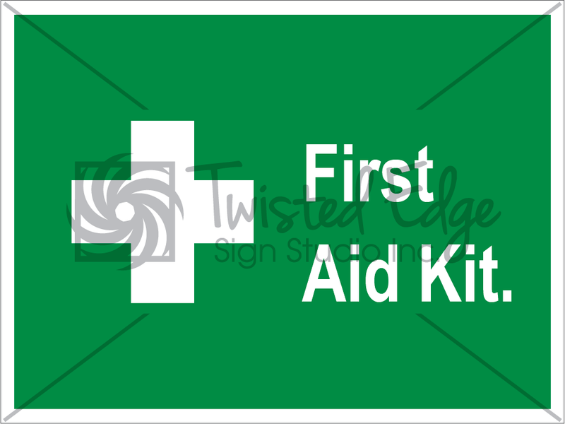 Safety Sign First Aid Kit