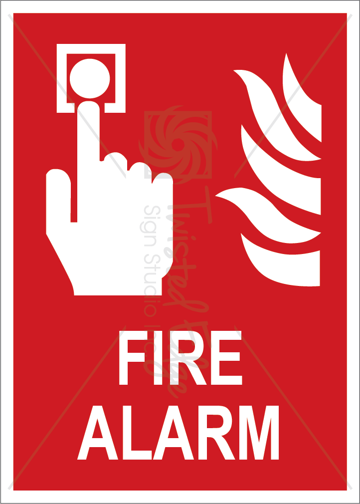 Safety Sign Fire Alarm