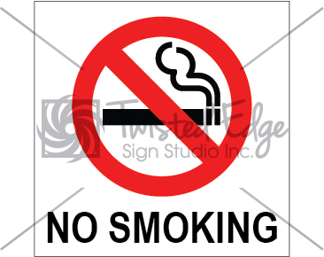 Safety Sign No Smoking