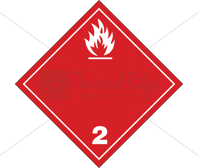 TDG Flammable Gas Class 2.1