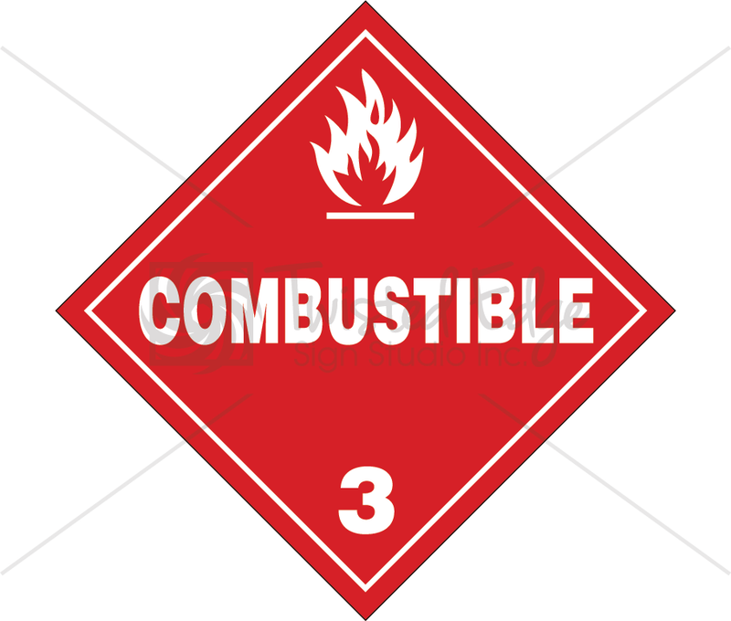 TDG Class 3 Combustible