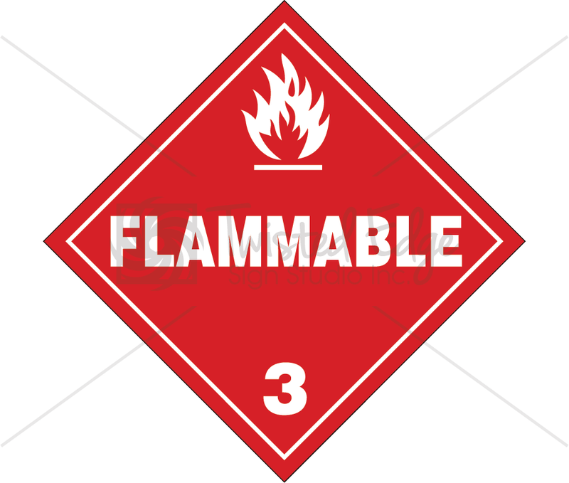 TDG Class 3 Flammable