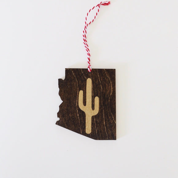 Arizona Cactus Ornament