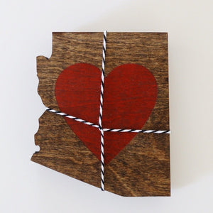 Arizona Heart Coasters