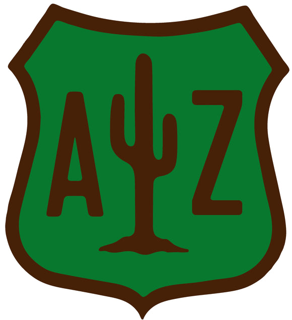 Arizona Saguaro Sticker