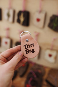 Dirt Bag Keychain