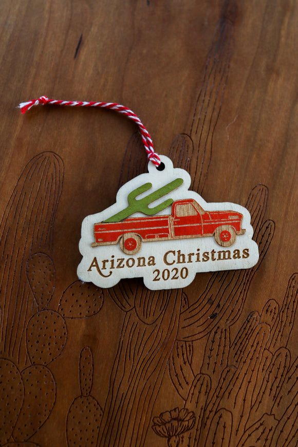 Arizona Christmas 2020 Ornament