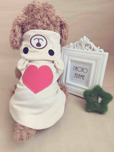 Cute Pyjamas Love Heart Bear
