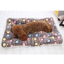Load image into Gallery viewer, Soft Flannel Pet Mat dog